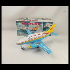 1960's Beechcraft King-Air Airplane Battery Operated Toy