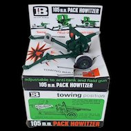 1960/70's Britains Italian 105mm Pack Howitzer (Set 9724)