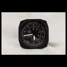1957 Kelvin Hughes KB 317/02 Built Differential Cabin Pressure Gauge