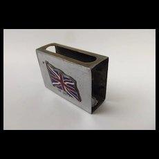 First World War Union Jack 'On Duty' Matchbox Case