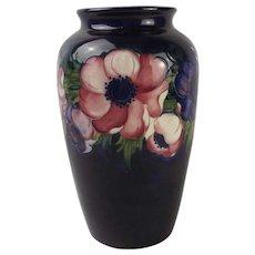 Large Moorcroft Anemone Pattern Vase 1928-49
