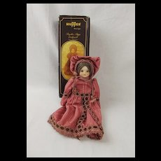 Boxed German Wupper Design Porcelain Doll