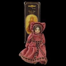 Boxed German Wupper Design Porcelain Doll