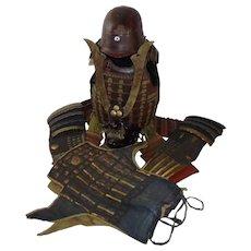19th Century Set Of Japanese Armour