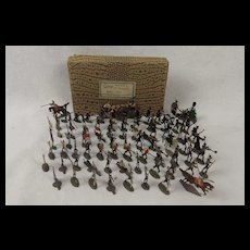 """Battle of Badajoz Spain 1812"" Tin Flat Soldiers"