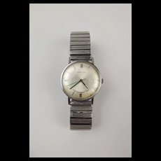 Longines Gents Stainless Steel Wrist Watch c1970's