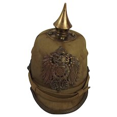 Circa 1900 German East Asian Expeditionary Force Other Ranks Pickelhaube