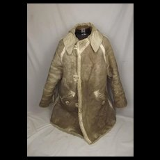 WW2 German Army Sheepskin Winter Coat