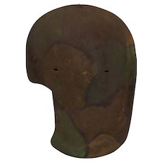 WW1 German Sniper Elephant Mask With Paint