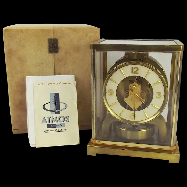 Lecoultre atmos clock dating advice