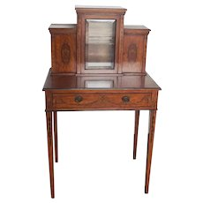 19th Century Bonheur De Jour Writing Desk By Gillows Of Lancaster & London