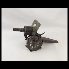 Pre-War Hausser Tin Plate Howitzer