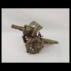 Pre-War Hausser Tin Plate Howitzer #2