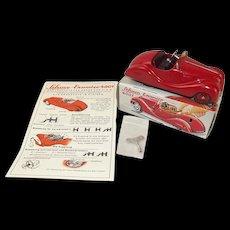 Schuco Examico 4001 West Germany Tinplate Clockwork Car