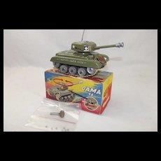 GAMA Clockwork Tin Plate Medium Tank M98 #3