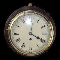 Original Mounted Fusee Ships Clock
