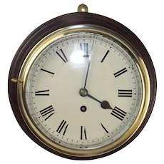 Original Mounted Fusee Ships Clock