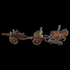 German Pre-War Hausser Field Gun Set