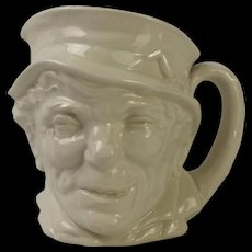 Simon The Cellarer Royal Doulton Character Jug In The White