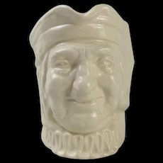 Royal Doulton Paddy Toby Jug In The White