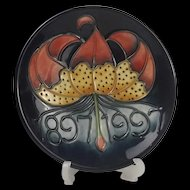 Moorcroft Centenary Pin Dish #1