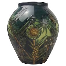 Moorcroft Amazon Twilight Vase