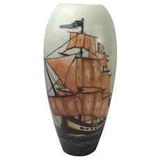 Moorcroft HMS Sirius Vase