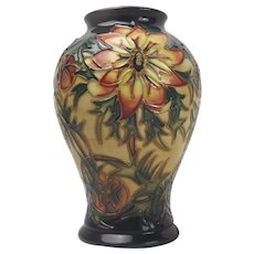 Moorcroft Spike Pattern Small Vase