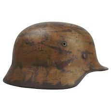 World War 2 German M1935 Desert Camo Helmet