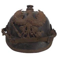 Ex M.Baldwin Collection Battlefield Pickup Relic M1895 Pickelhaube Helmet