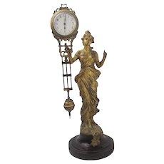 1900 German Junghans Diana Clock