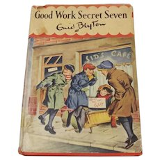Good Work Secret Seven By Enid Blyton 1st Edition