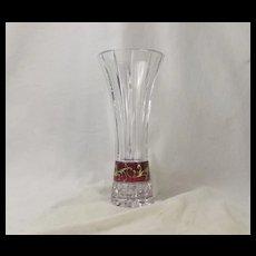 1950's Bohemian Glass Vase