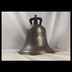 HMS Heythrop Ships Bell 1917 Hunt Class Minesweeper