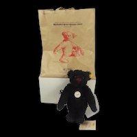 Steiff Classic Small Black Teddy Bear c2004