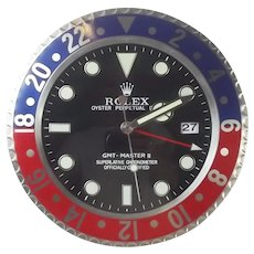 Rolex Oyster Perpetual Date GMT-Master II Superlative Chronometer Retailers Wall Clock