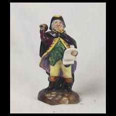 Royal Doulton Town Crier Miniature Figurine