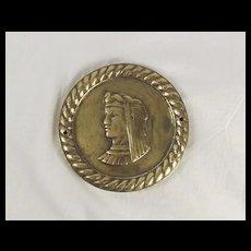 HMS Isis 1937 D87 Bronze Boat Badge