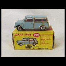 Dinky Toys 199 Austin Seven Countryman