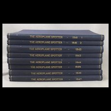8 Volumes Of The Aeroplane Spotter Books 1941 – 1947