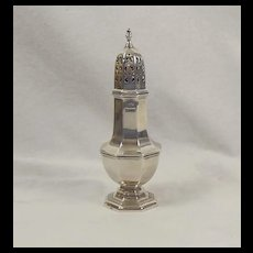 Silver Sugar Shaker Chester 1885