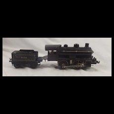 Bing Gauge 1 Electric Tinplate Compound 4-4-0 Locomotive & Tender
