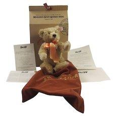 Steiff Teddy Bear Exclusive Danbury Mint Royal Wedding