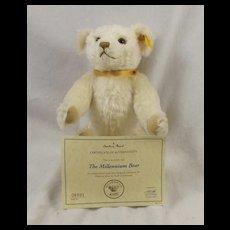 Steiff Millennium Teddy Bear Exclusive Danbury Mint
