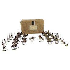 Napoleonic Tin Flat Soldiers
