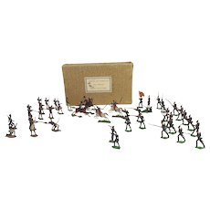 Battle of Waterloo 1815 Tin Flat Soldiers