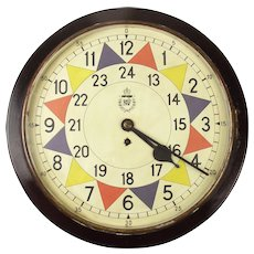 1942 Smiths Type 2 RAF Station Sector Clock