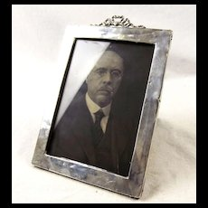 Early 1900's Silver Picture Frame
