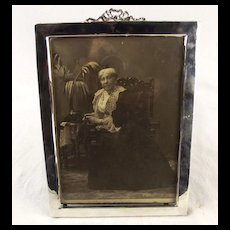 Early 1900's Nice Sized Silver Picture Frame