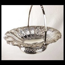 Antique Silver Basket Sheffield 1900